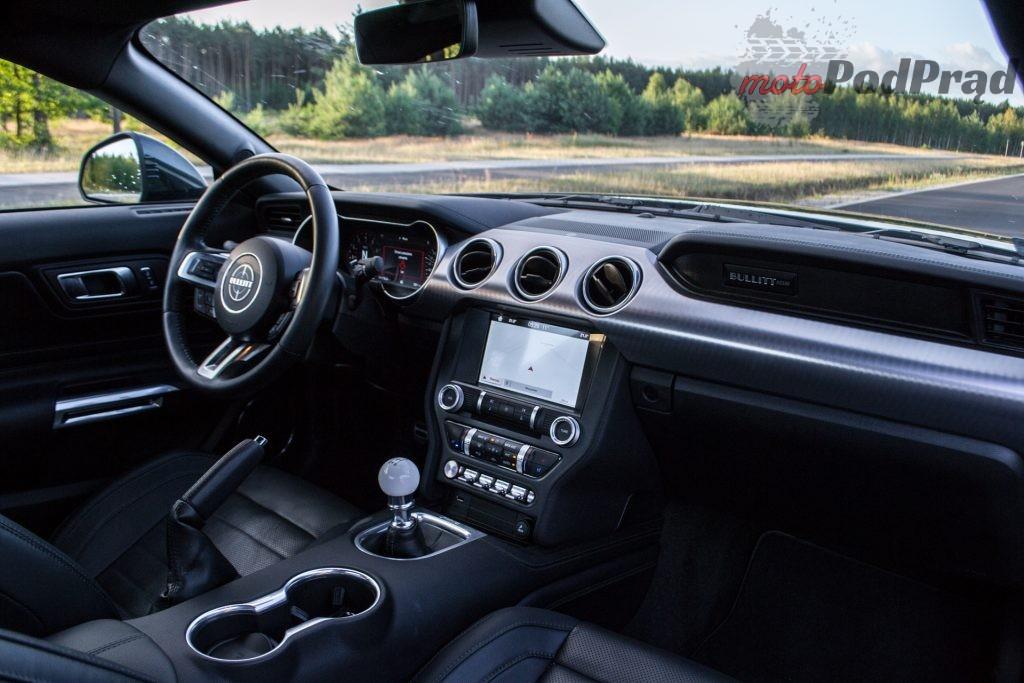DSC 2457 1024x683 Test: Ford Mustang Bullitt 5.0 V8   być jak gwiazda Hollywood