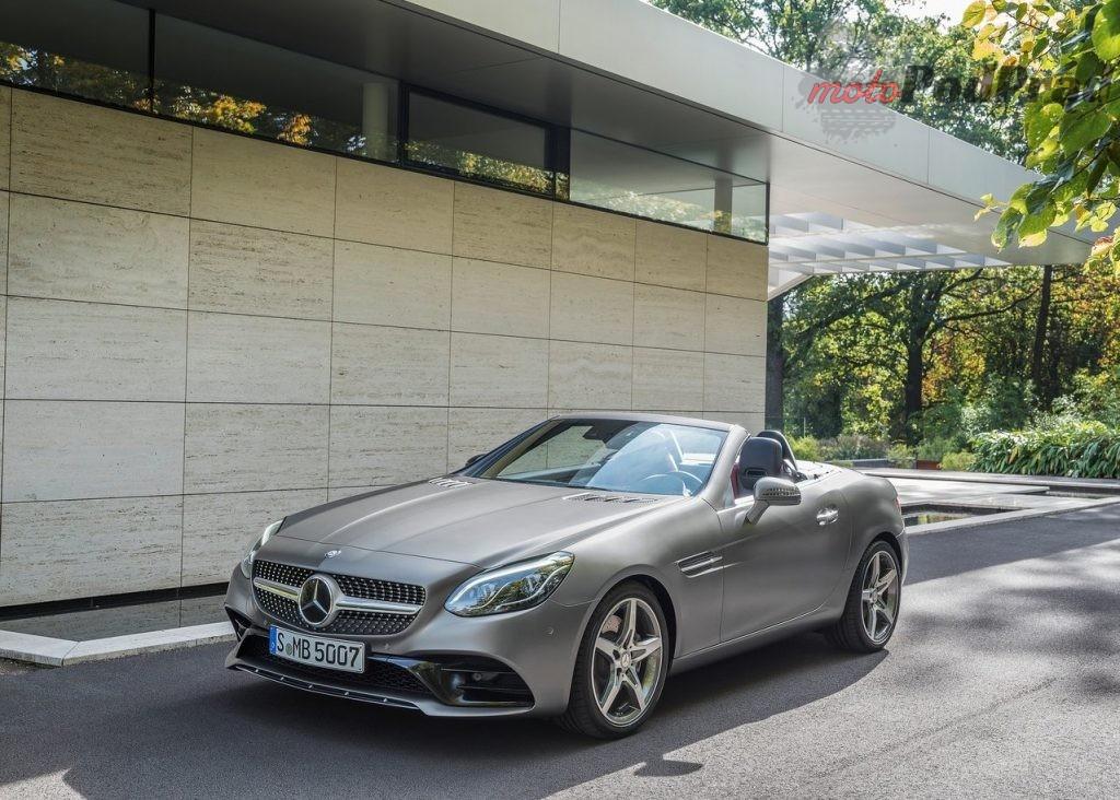 Mercedes Benz SLC 2017 1280 02 1024x732 Przegląd rynku: sportowe wozy z manualem