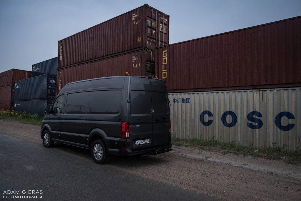 crafter 1 1024x683 Porównanie: Renault Master vs Volskwagen Crafter – offroadowe starcie dostawczaków