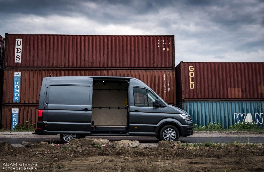 crafter 10 1024x669 Porównanie: Renault Master vs Volskwagen Crafter – offroadowe starcie dostawczaków