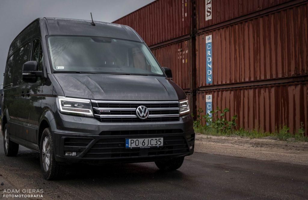 crafter 12 1024x667 Porównanie: Renault Master vs Volskwagen Crafter – offroadowe starcie dostawczaków