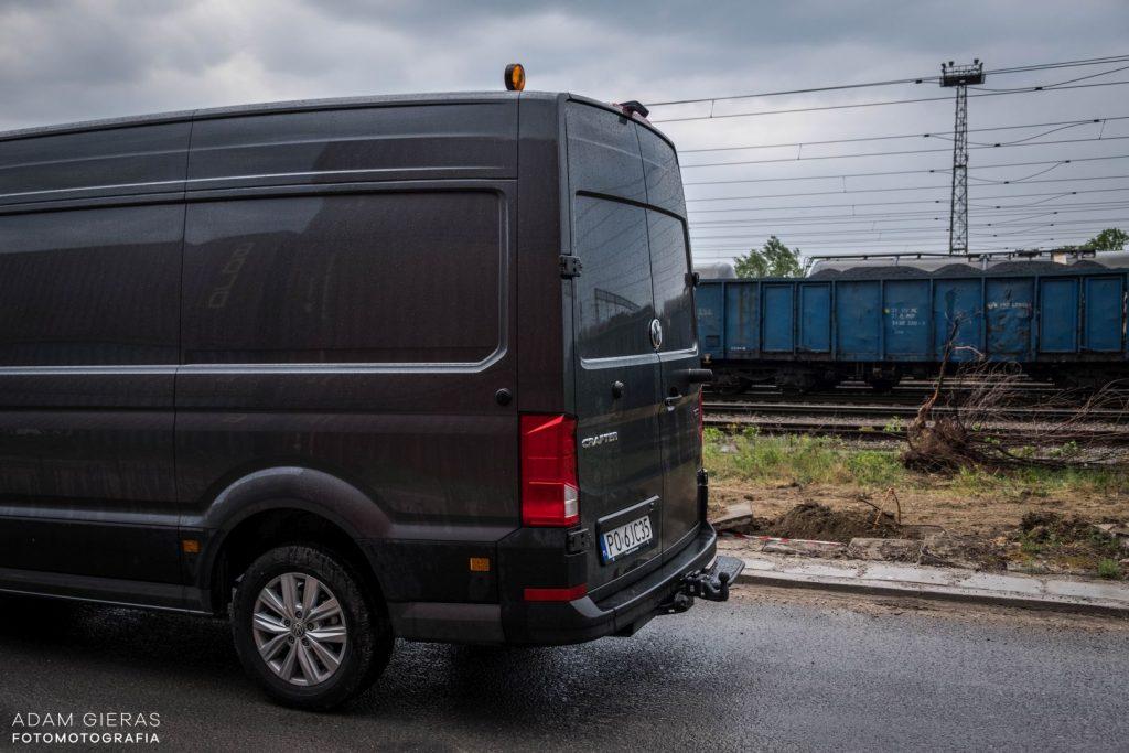 crafter 13 1024x683 Porównanie: Renault Master vs Volskwagen Crafter – offroadowe starcie dostawczaków
