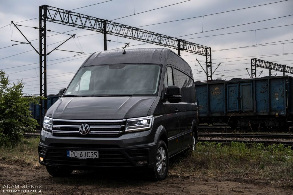 crafter 9 1024x683 Porównanie: Renault Master vs Volskwagen Crafter – offroadowe starcie dostawczaków