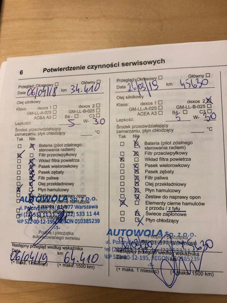 dokumenty Insognia 5 768x1024 Używane: Poleasingowy Opel Insignia 1.6 T 170 KM z przebiegiem 50 000 km cz. 1