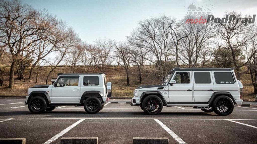 liberty walk suzuki jimny and mercedes benz g class 1024x576