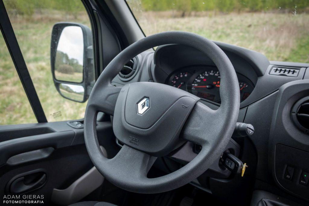 master 17 1024x683 Porównanie: Renault Master vs Volskwagen Crafter – offroadowe starcie dostawczaków