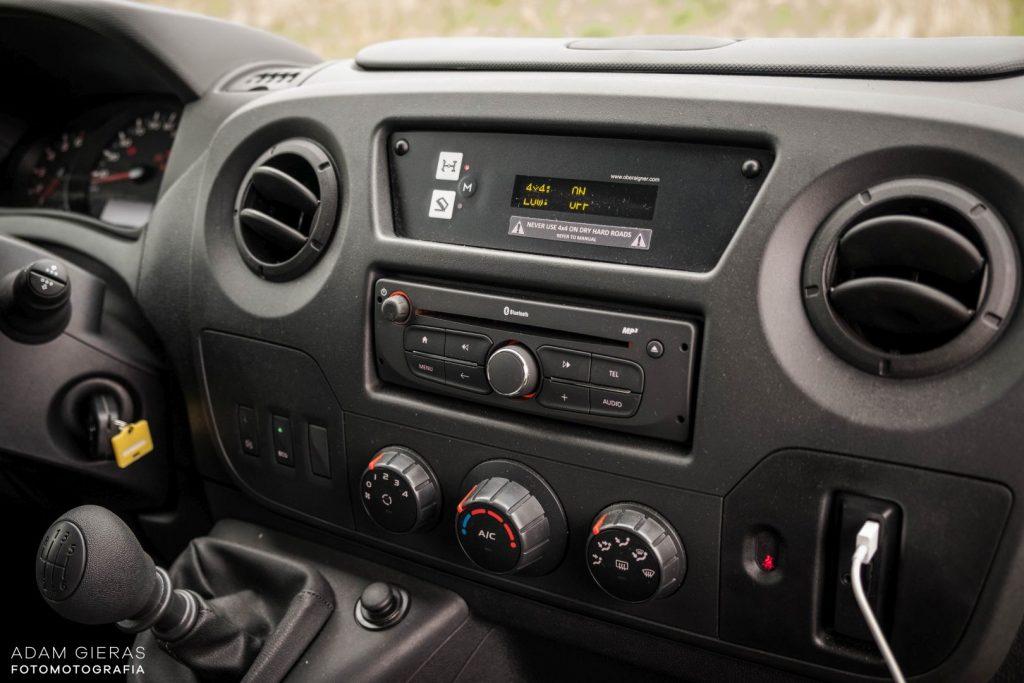 master 19 1024x683 Porównanie: Renault Master vs Volskwagen Crafter – offroadowe starcie dostawczaków