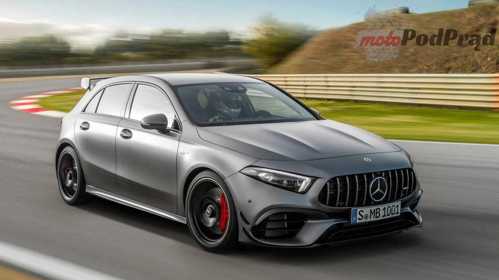 mercedes amg a 45 4matic 2019 1024x576 Mercedes A45S AMG to najmocniejszy seryjny 4 cylindrowiec