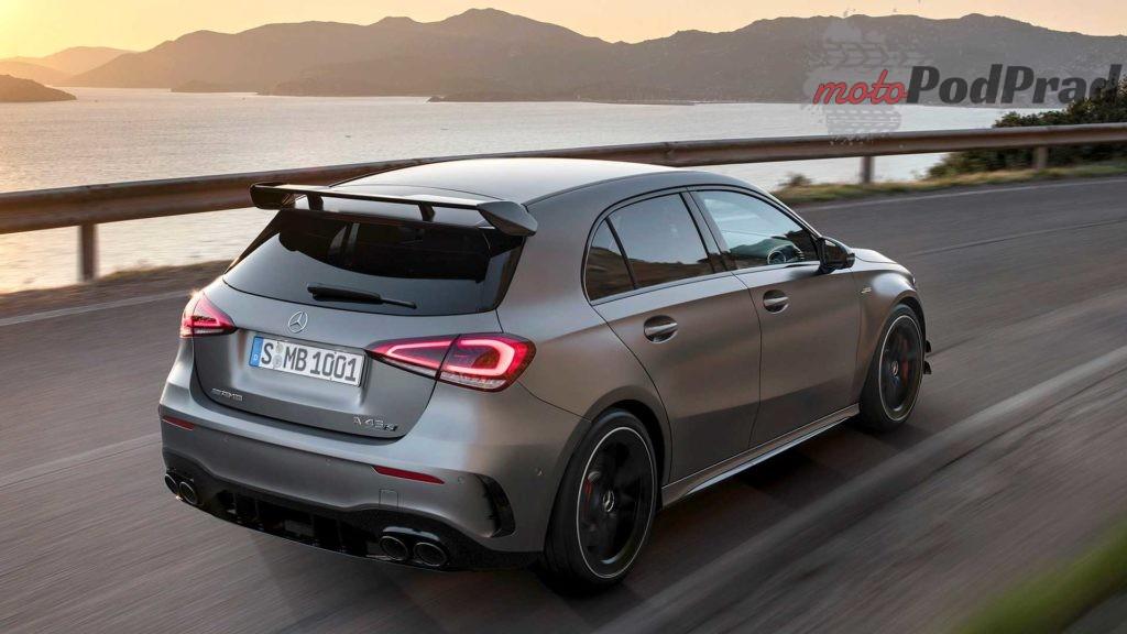 mercedes amg a 45 4matic 2019 2 1024x576 Mercedes A45S AMG to najmocniejszy seryjny 4 cylindrowiec