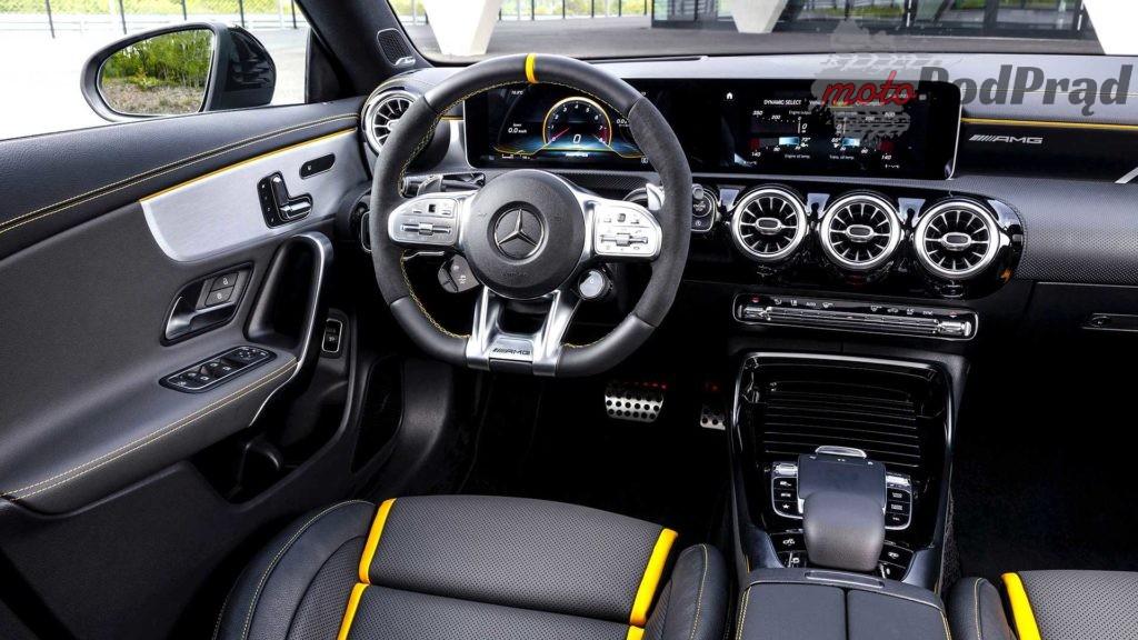mercedes amg cla 45 4matic 2019 1 1024x576 Mercedes A45S AMG to najmocniejszy seryjny 4 cylindrowiec