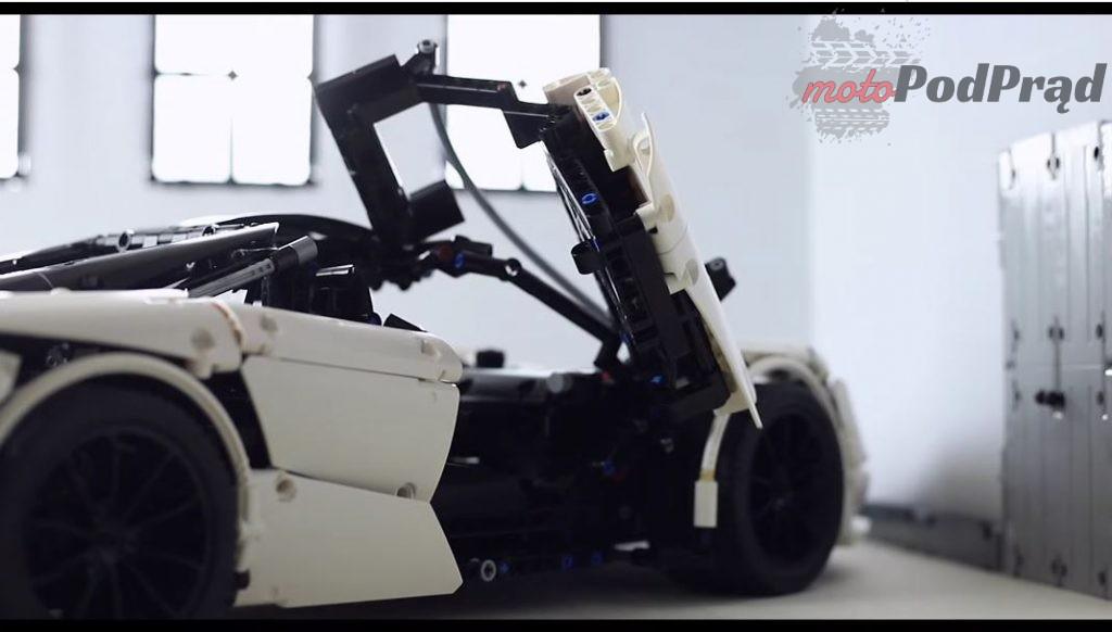 2019 08 09 13 26 29 Lego Technic 1 8 McLaren 720S YouTube 1024x582 Zbudował wspaniały model McLarena z LEGO