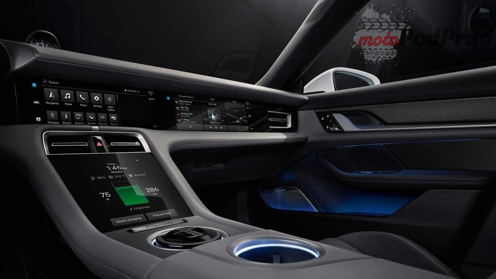 2020 porsche taycan 2 1024x576 Poznaliśmy wnętrze Porsche Taycan