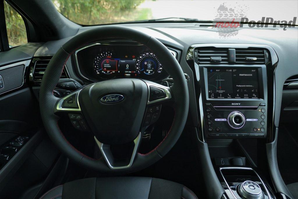 Ford Mondeo 10 1024x682 Test: Ford Mondeo ST line   szczebel wyżej