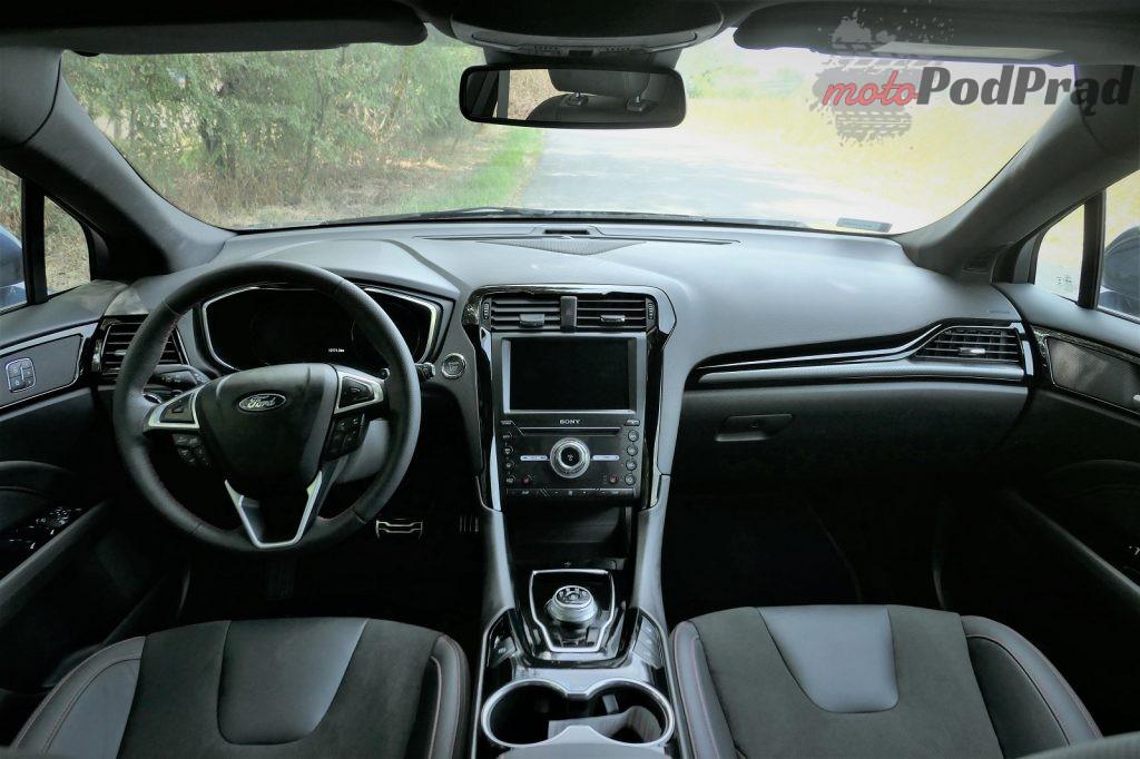 Ford Mondeo 9 1024x682 Test: Ford Mondeo ST line   szczebel wyżej