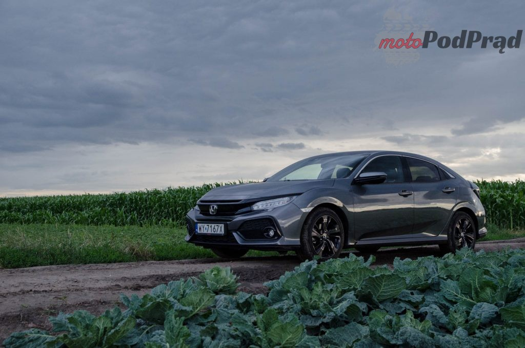 Honda Civic 1 0 12 1024x678 Test: Honda Civic 1.0 MT – niekiedy litr to mało…