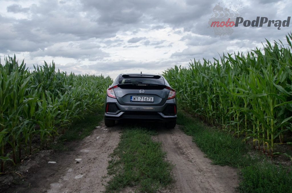Honda Civic 1 0 3 1024x678 Test: Honda Civic 1.0 MT – niekiedy litr to mało…