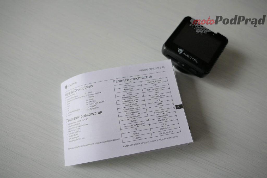 Navitel R650 NV 12 1024x683 Test: Navitel R650NV   nagrań czas start