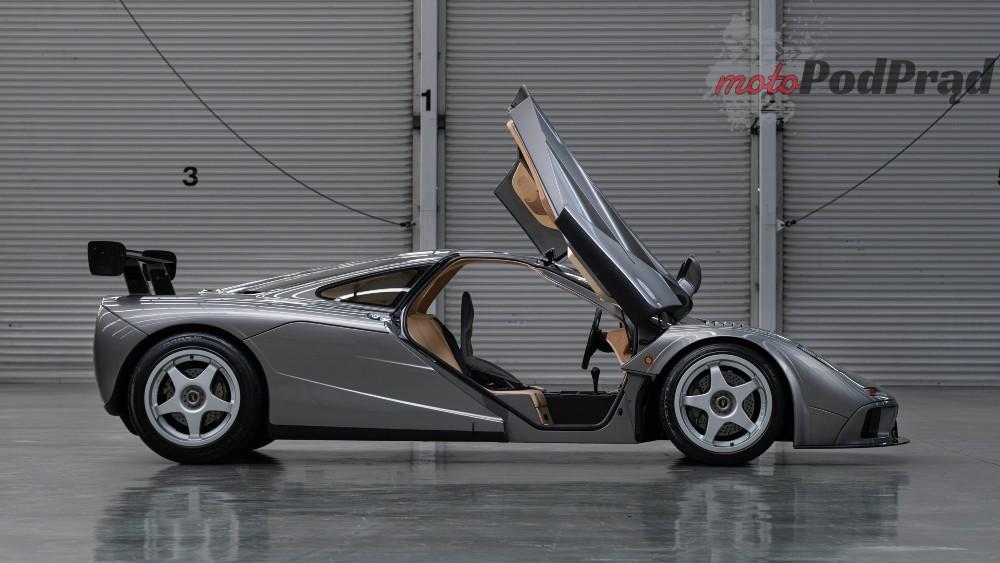 mclaren05 McLaren F1 LM spec na sprzedaż. Może osiągnąć nawet $23 mln!