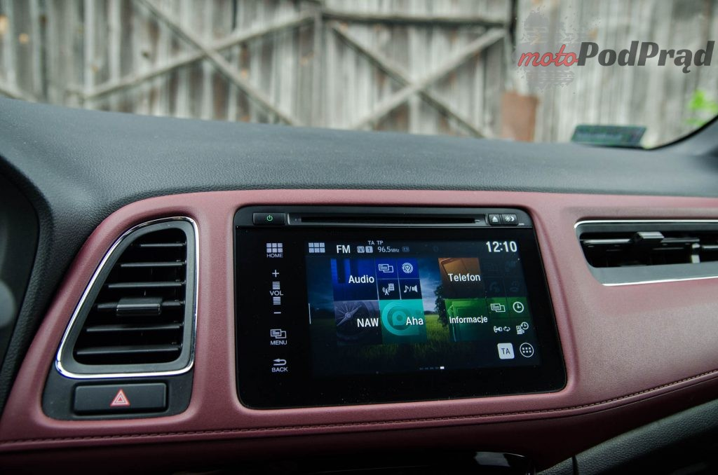 Honda HRV 10 1024x678 Test: Honda HR V Sport   w zdrowym ciele zdrowy duch