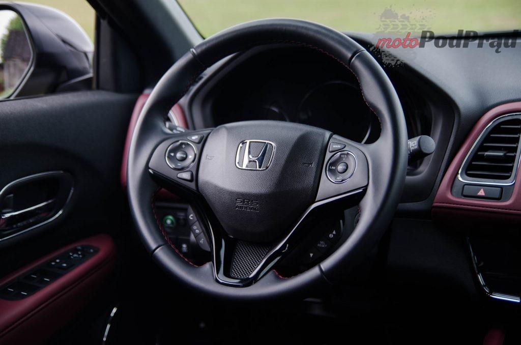 Honda HRV 16 1024x678 Test: Honda HR V Sport   w zdrowym ciele zdrowy duch
