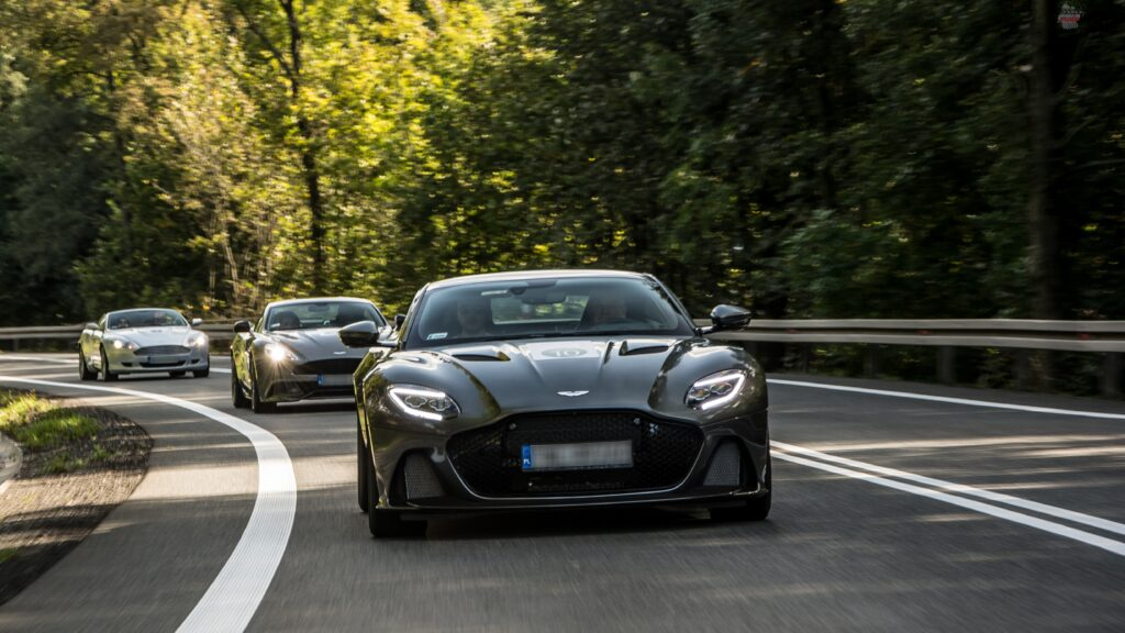 AM Tour 2019 39 1024x576 Parada aut marki Aston Martin przejechała przez Polskę