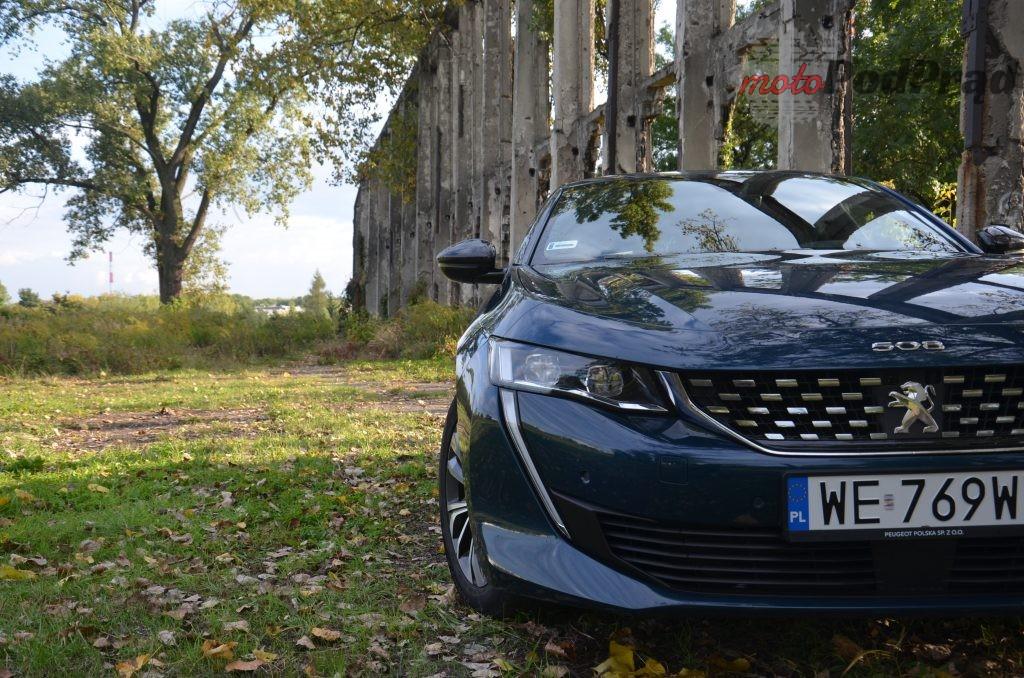 DSC 0750 1024x678 Test: Peugeot 508 1.5 BlueHDI Gt line   czy mały silnik ma sens?