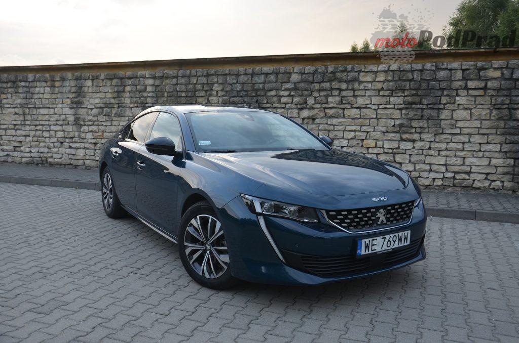 DSC 0813 1024x678 Test: Peugeot 508 1.5 BlueHDI Gt line   czy mały silnik ma sens?