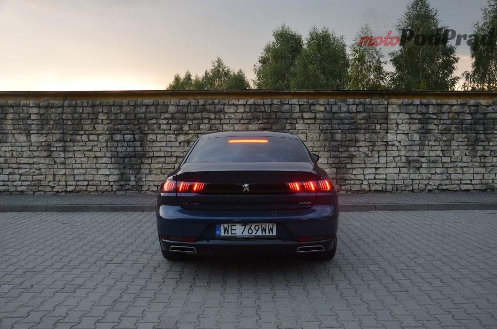 DSC 0838 1024x678 Test: Peugeot 508 1.5 BlueHDI Gt line   czy mały silnik ma sens?