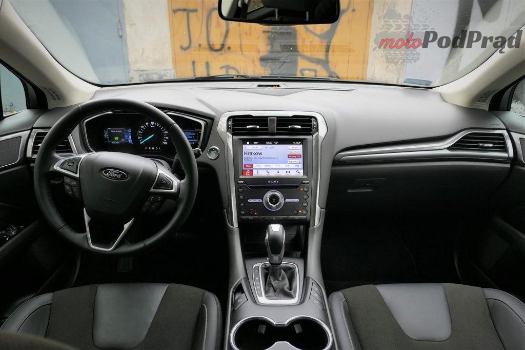 Ford Mondeo Hybrid 18 1024x682 Test: Ford Mondeo Hybrid kombi   cichy zawodnik z kufrem