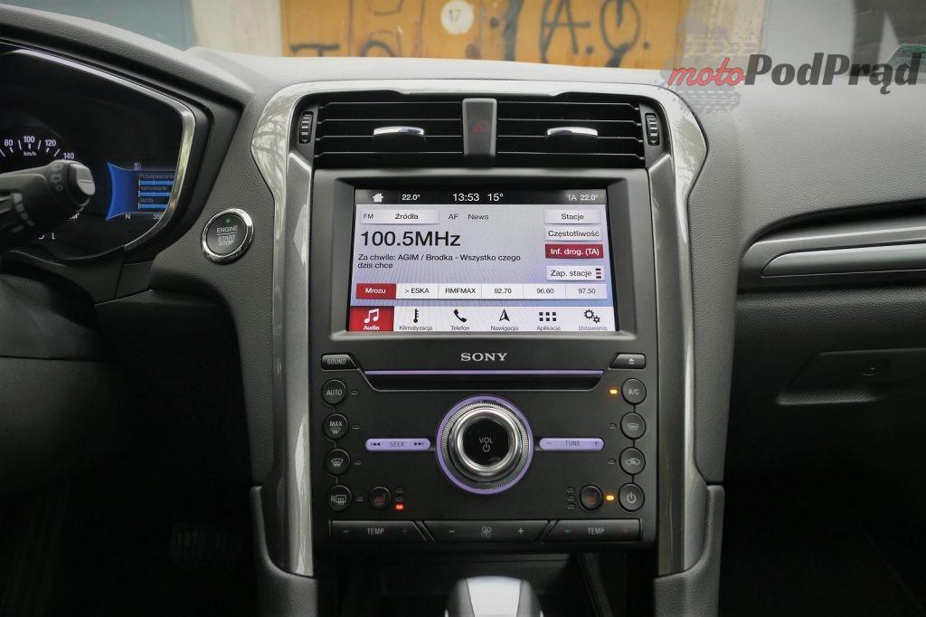 Ford Mondeo Hybrid 20 1024x682 Test: Ford Mondeo Hybrid kombi   cichy zawodnik z kufrem
