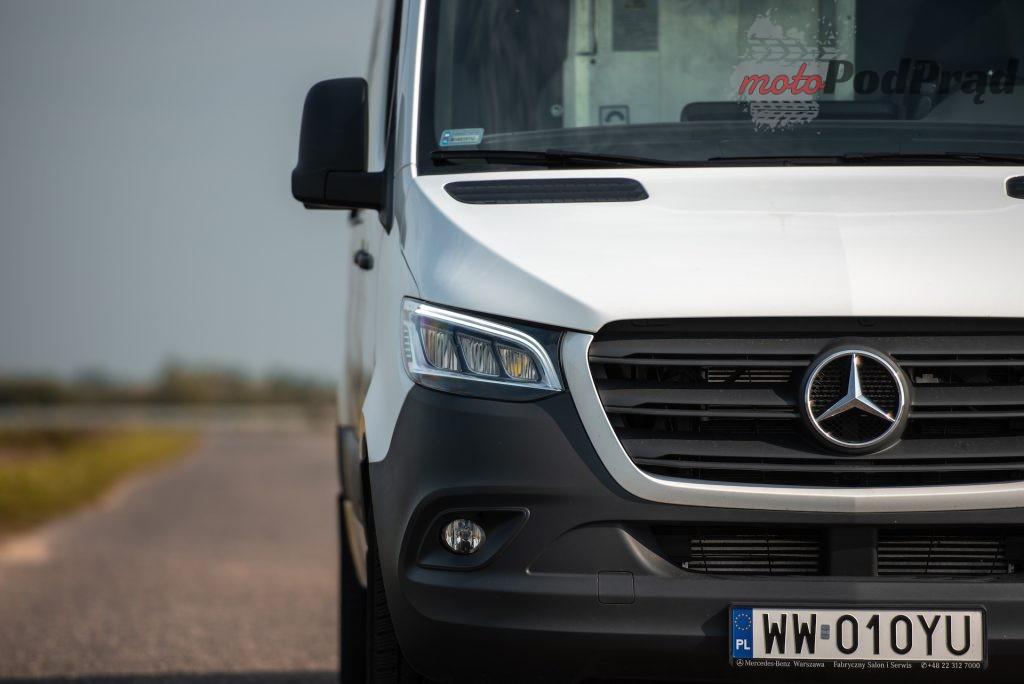 Mercedes Sprinter zabudowa kurierska 2 1024x684
