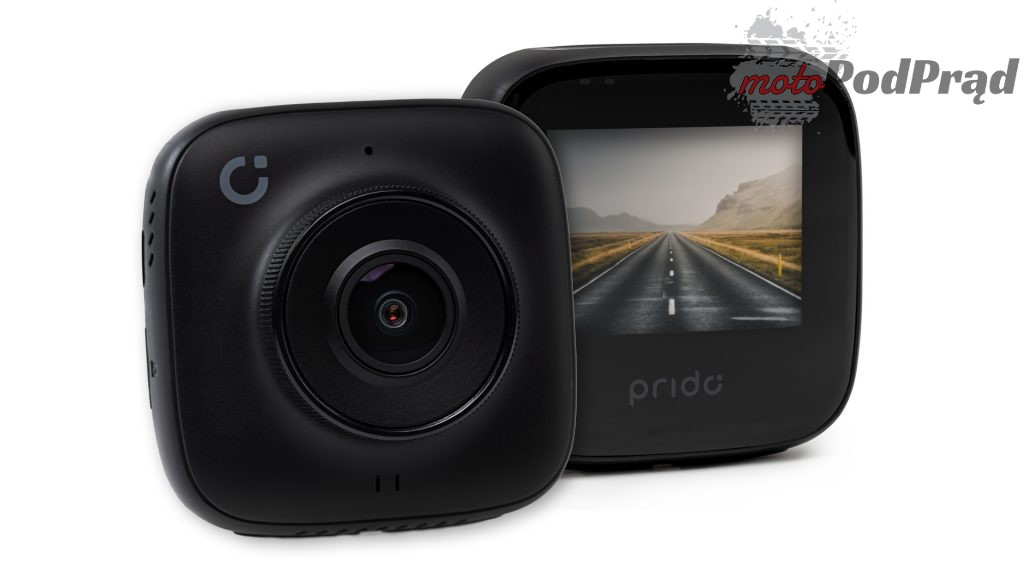 prido i5 przod tyl 1024x576 Test: Prido i5   wideorejestrator polskiego producenta