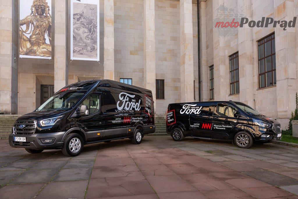 Ford Transit Tourneo Muzeum Narodowe 1 1024x683 Ford Polska rozpoczyna współpracę z Muzeum Narodowym