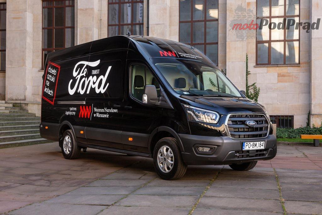 Ford Transit Tourneo Muzeum Narodowe 2 1024x683 Ford Polska rozpoczyna współpracę z Muzeum Narodowym