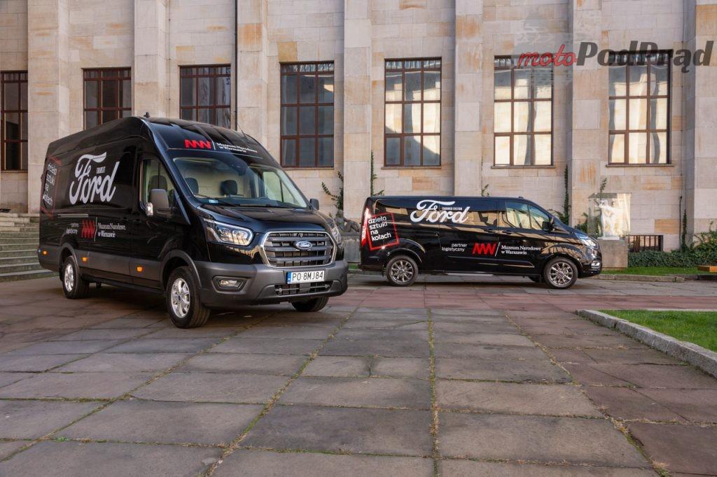 Ford Transit Tourneo Muzeum Narodowe 3 1024x682 Ford Polska rozpoczyna współpracę z Muzeum Narodowym