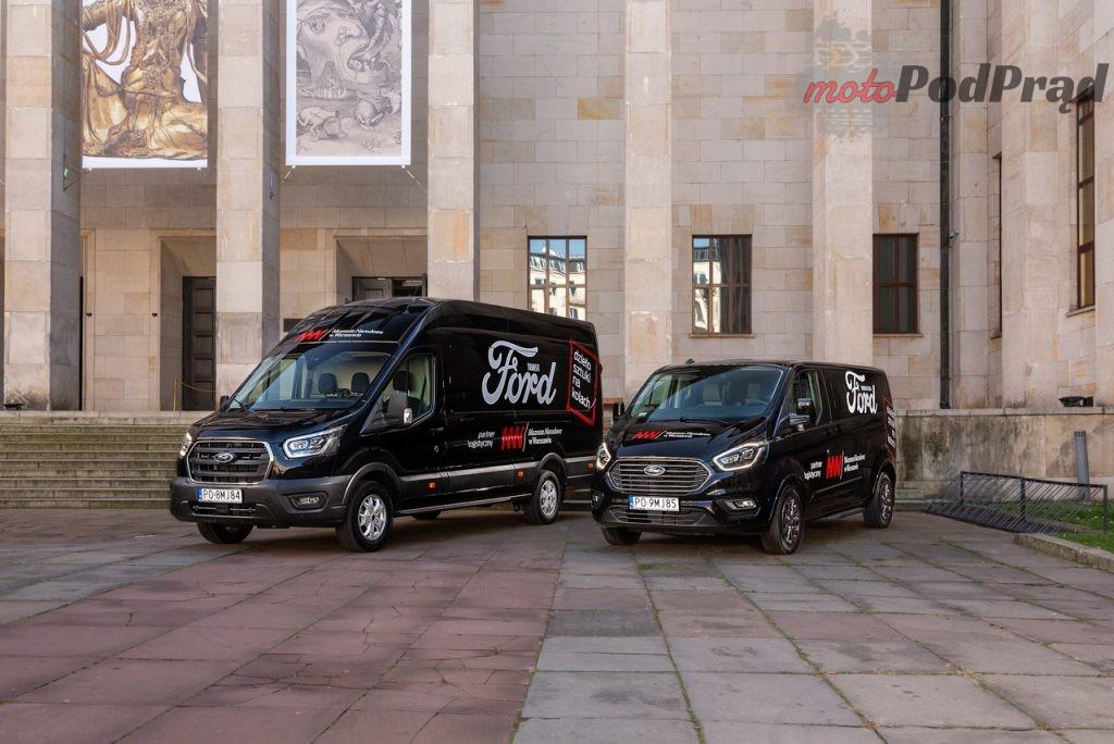 Ford Transit Tourneo Muzeum Narodowe 4 1024x684 Ford Polska rozpoczyna współpracę z Muzeum Narodowym