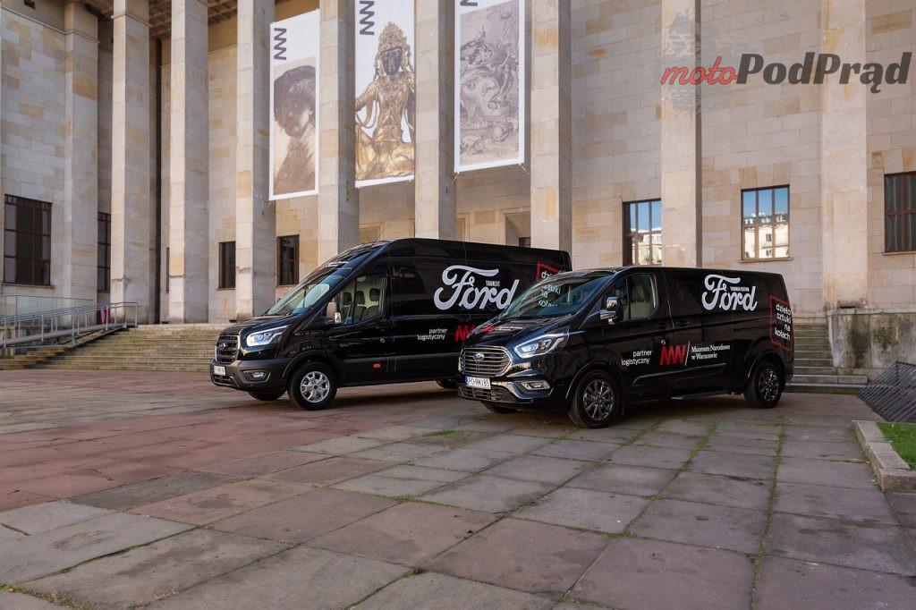 Ford Transit Tourneo Muzeum Narodowe 5 1024x682 Ford Polska rozpoczyna współpracę z Muzeum Narodowym