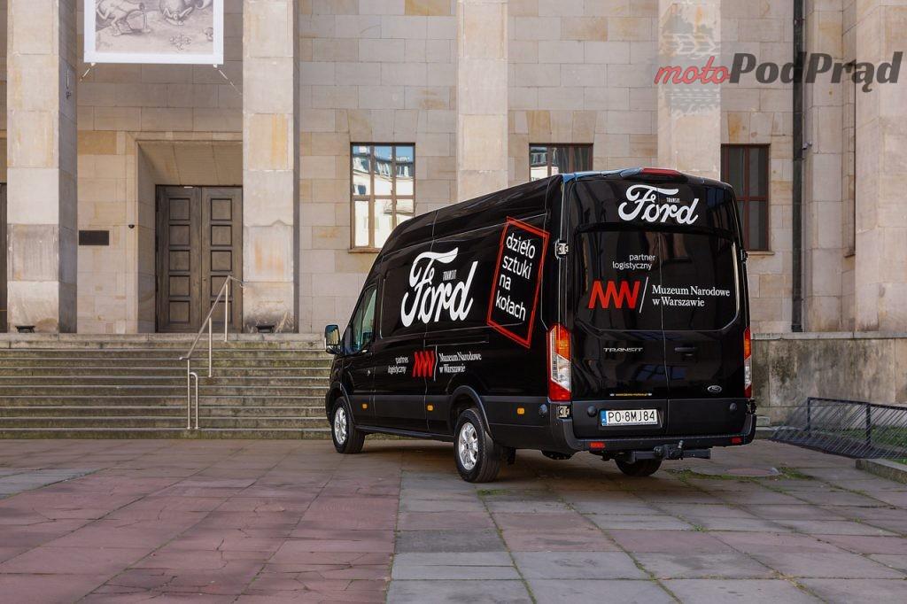 Ford Transit Tourneo Muzeum Narodowe 6 1024x682 Ford Polska rozpoczyna współpracę z Muzeum Narodowym