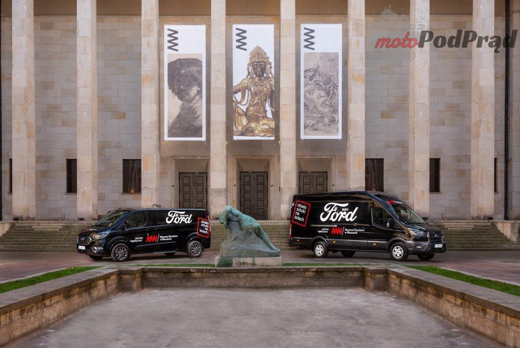 Ford Transit Tourneo Muzeum Narodowe 7 1024x685 Ford Polska rozpoczyna współpracę z Muzeum Narodowym
