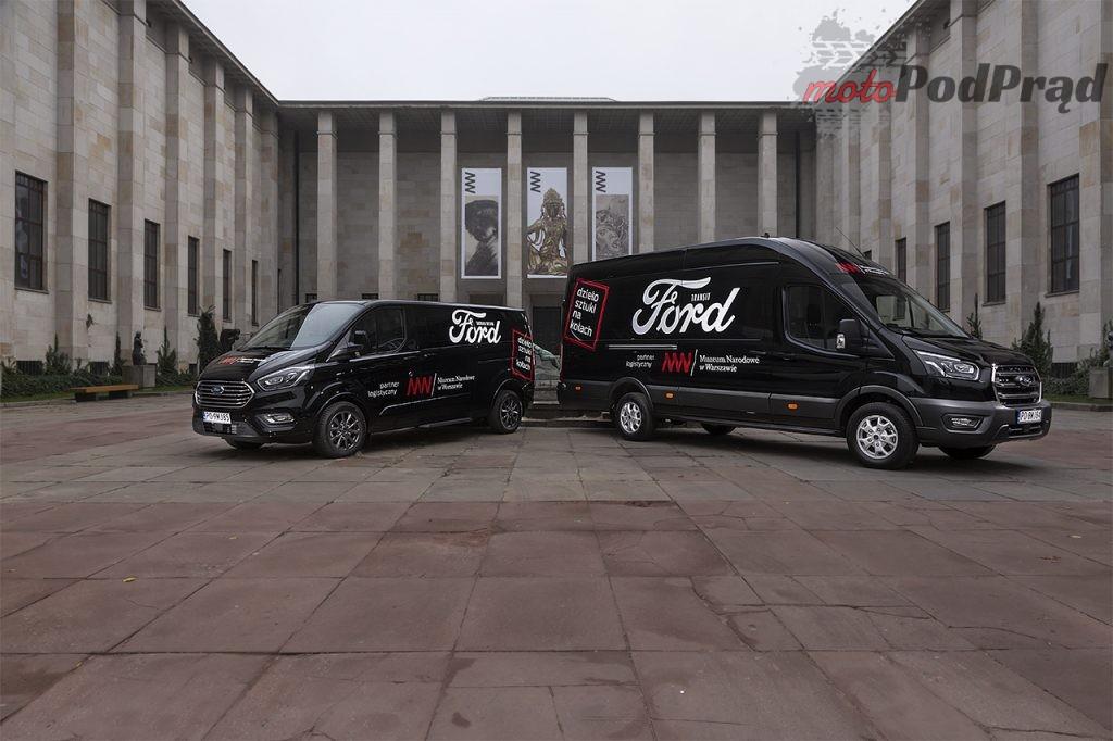Ford Transit Tourneo Muzeum Narodowe 8 1024x682 Ford Polska rozpoczyna współpracę z Muzeum Narodowym