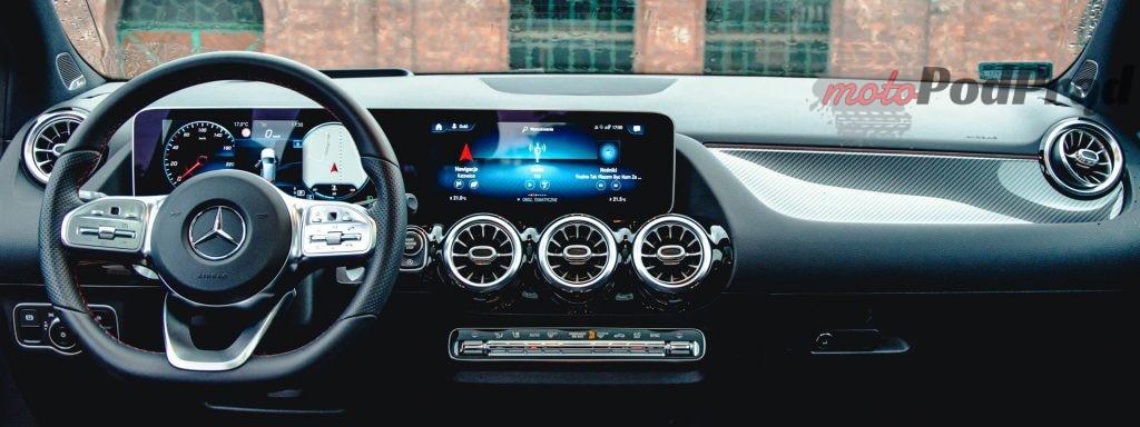 Mercedes Benz Klasy B 14 1024x384 Test: Mercedes Benz Klasy B 200d   czy minivan w dobie crossoverów ma sens?