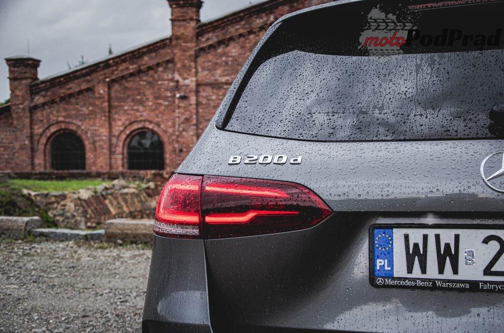 Mercedes Benz Klasy B 15 1024x678 Test: Mercedes Benz Klasy B 200d   czy minivan w dobie crossoverów ma sens?
