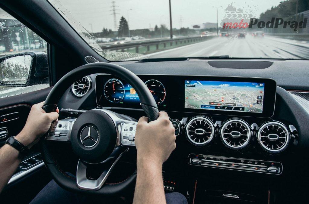 Mercedes Benz Klasy B 22 1024x678 Test: Mercedes Benz Klasy B 200d   czy minivan w dobie crossoverów ma sens?