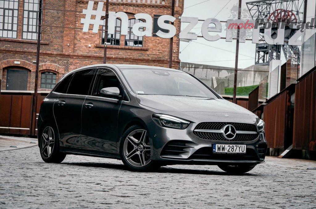 Mercedes Benz Klasy B 7 1024x678 Test: Mercedes Benz Klasy B 200d   czy minivan w dobie crossoverów ma sens?