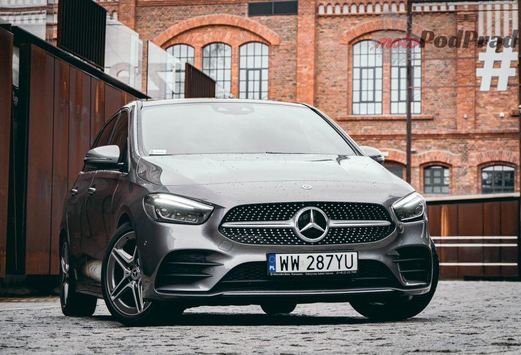 Mercedes Benz Klasy B 9 1024x697 Test: Mercedes Benz Klasy B 200d   czy minivan w dobie crossoverów ma sens?