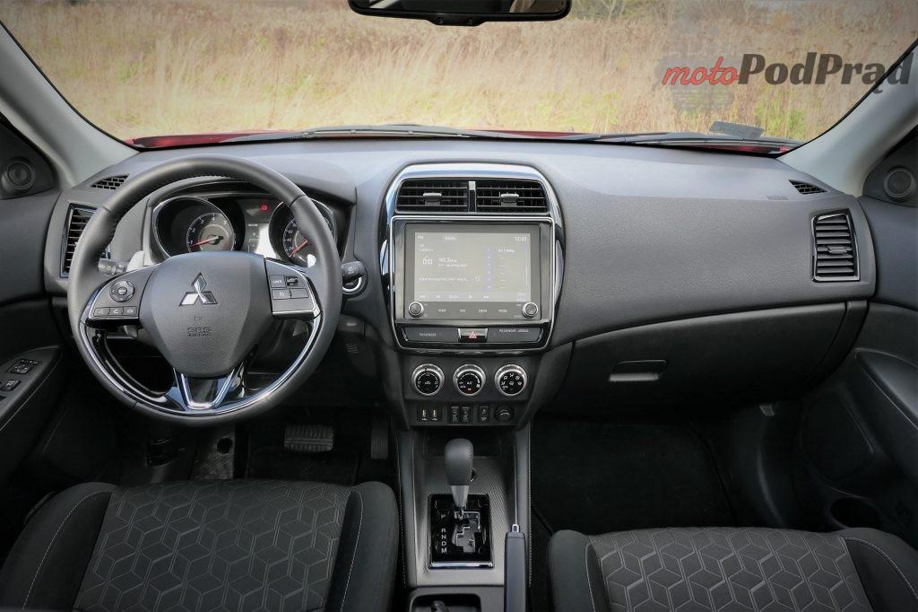 Mitsubishi ASX 7 1024x682 Test: Mitsubishi ASX   crossover po staremu