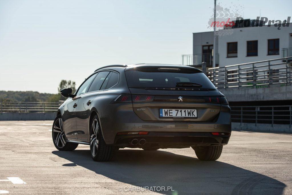 Peugeot 508 SW 12 1024x684 Test: Peugeot 508 SW GT   lwi diament w koronie
