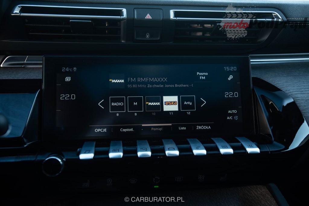 Peugeot 508 SW 21 1024x684 Test: Peugeot 508 SW GT   lwi diament w koronie
