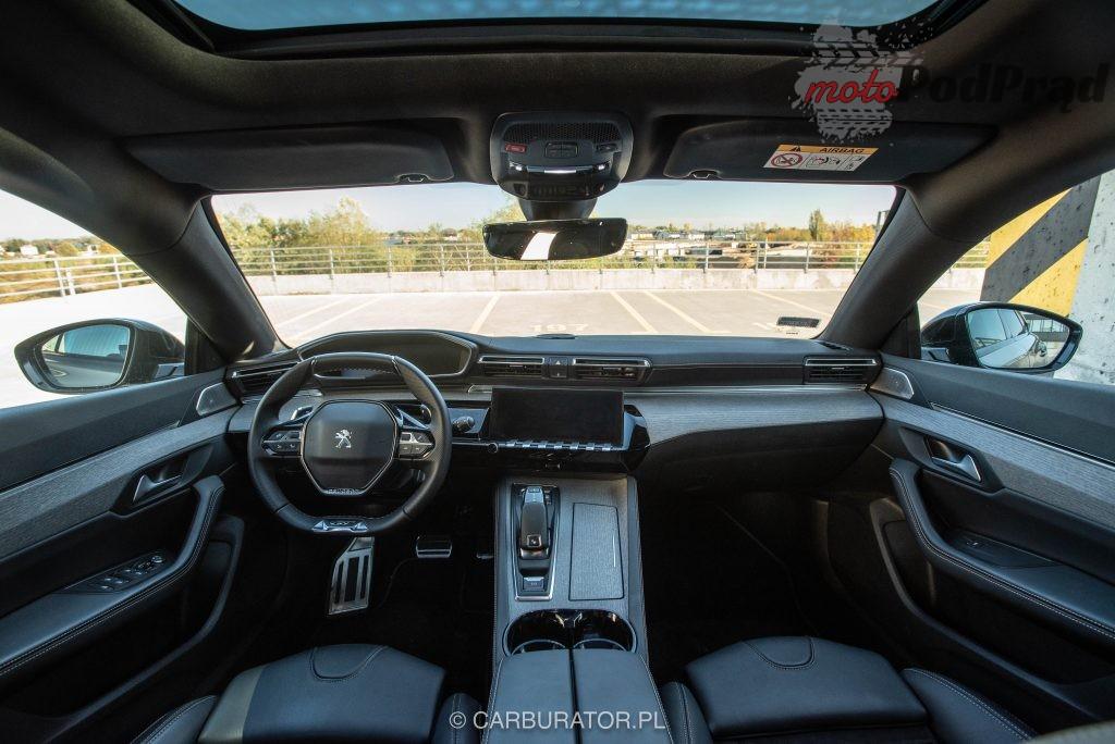 Peugeot 508 SW 24 1024x684 Test: Peugeot 508 SW GT   lwi diament w koronie