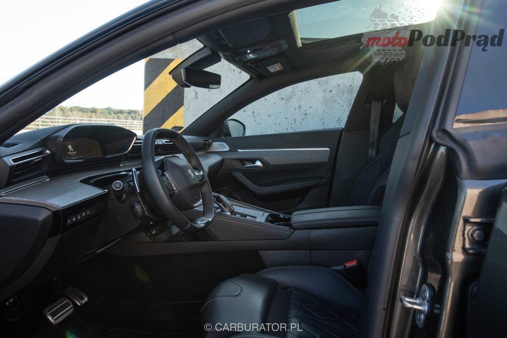 Peugeot 508 SW 28 1024x684 Test: Peugeot 508 SW GT   lwi diament w koronie